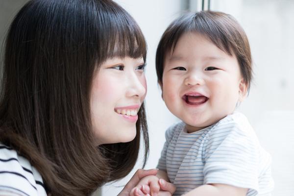 お母さんと乳幼児